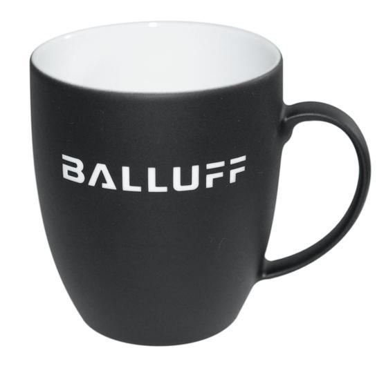 Kaffeetasse, schwarz