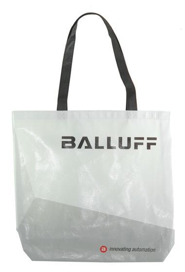 Balluff Tasche weiß, kleine Ausführung