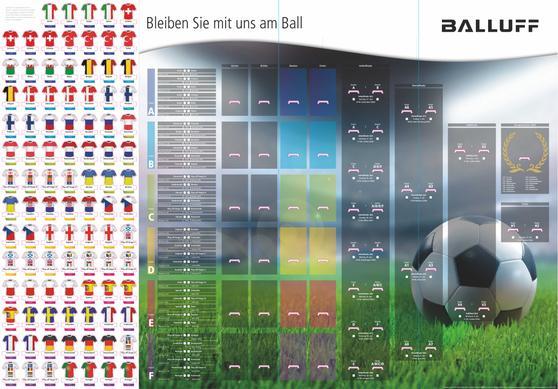 EM Fussballsteckplaner