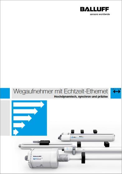 Wegaufnehmer mit Echtzeit-Ethernet