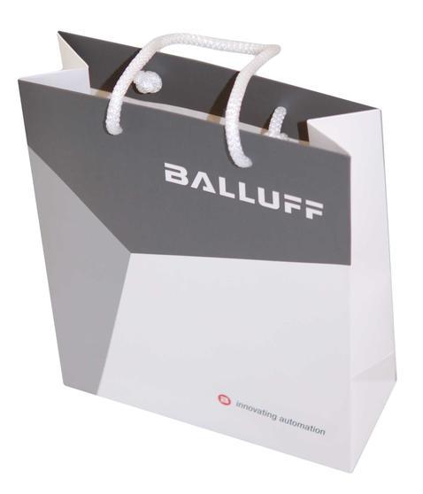 Paper carrier bag Motif: Balluff